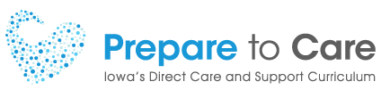 Iowa Prepare to Care Information Site logo